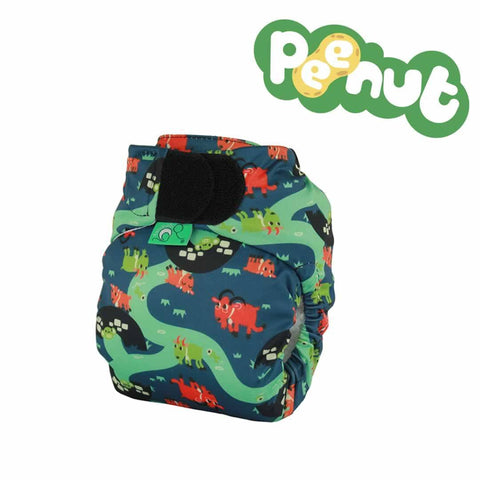 TotsBots PeeNut Nappy - Billy Goats Gruff - Nappies - Natural Baby Shower