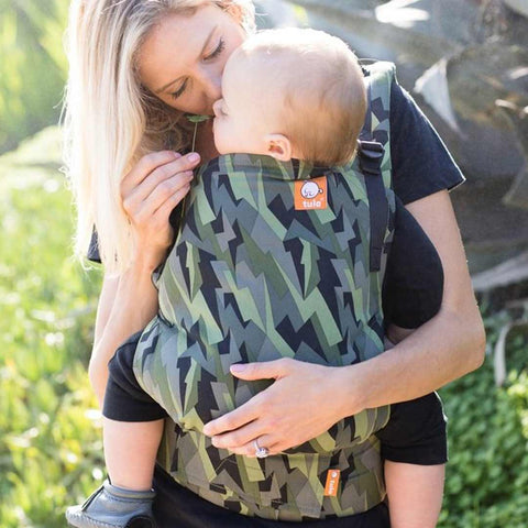 Tula Free-to-Grow Baby Carrier - Black Lightning-Baby Carriers- Natural Baby Shower