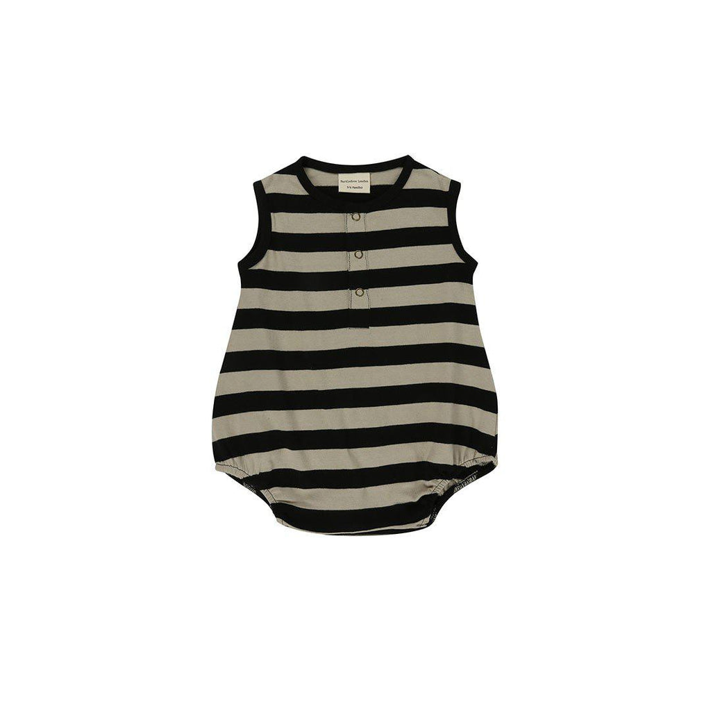089fc9ee5d5 Turtledove London Bubble Romper - Wide Stripe-Rompers- Natural Baby Shower  ...