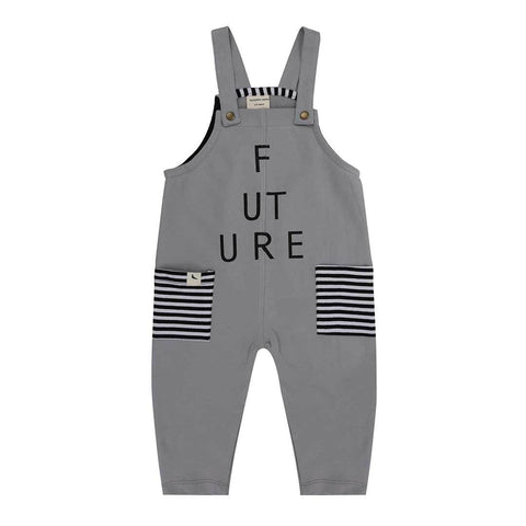 Turtledove London Easy Fit Dungarees - Future
