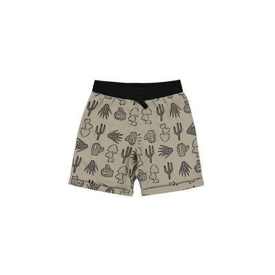 Turtledove London Easy Fit Shorts - Cactus Print-Shorts- Natural Baby Shower