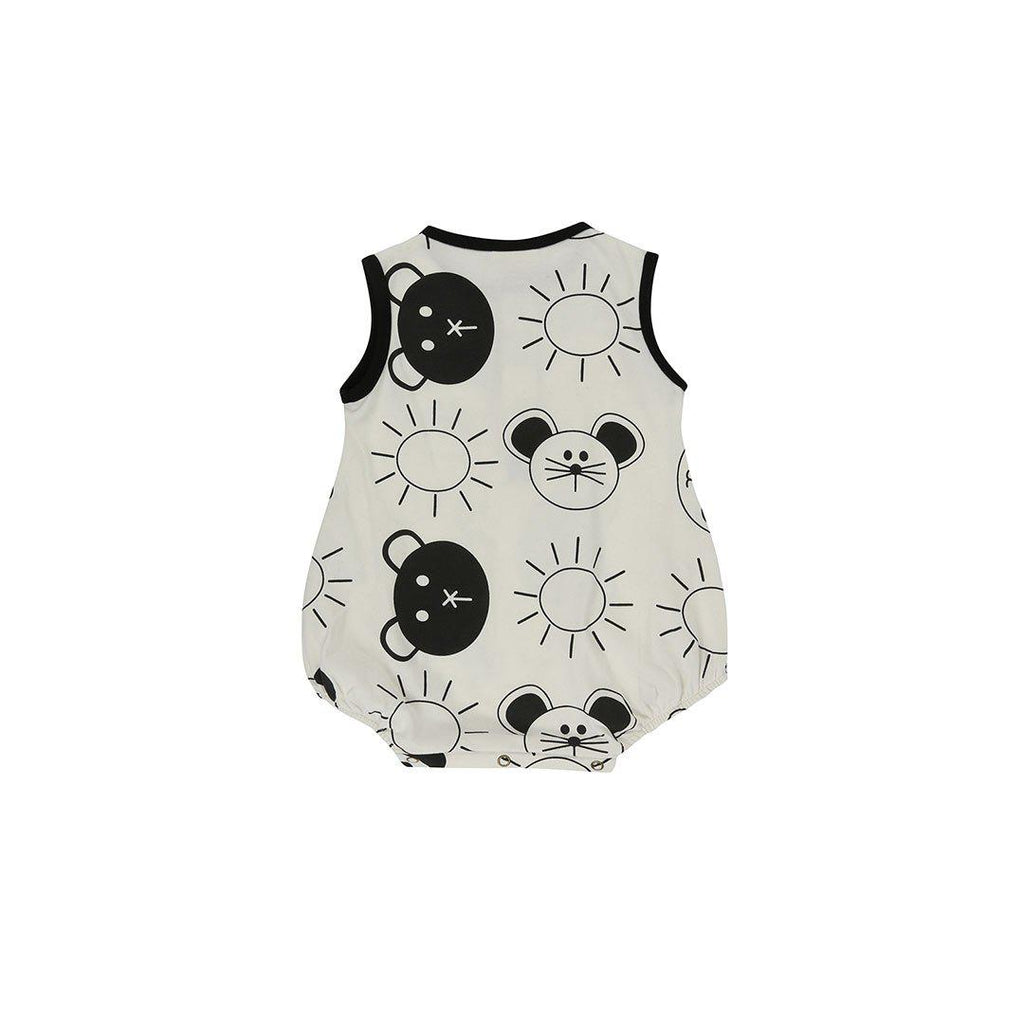 f9aa9eddbf34 ... Turtledove London Jersey Bubble Romper - Friends Aop-Rompers- Natural  Baby Shower