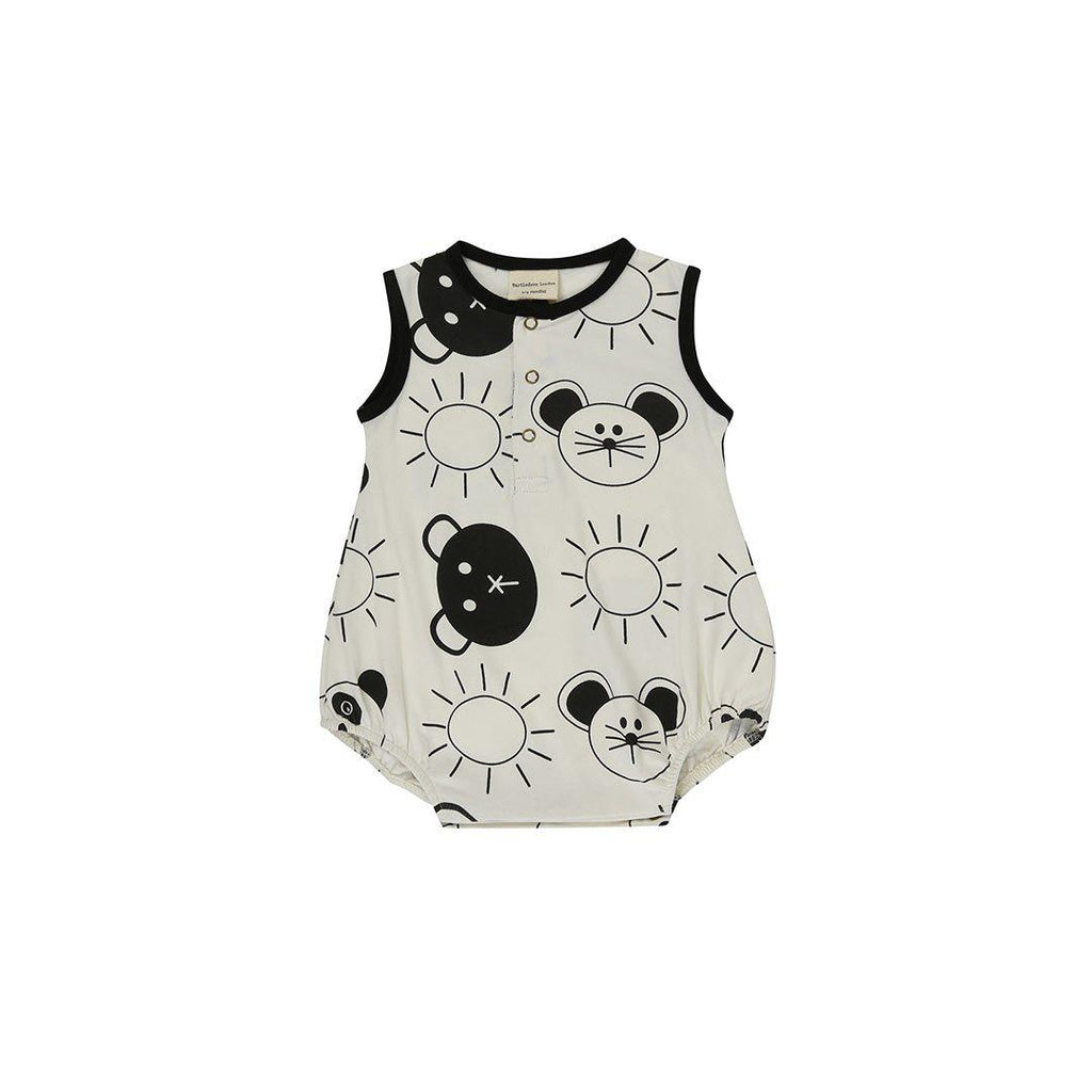 1ef33da2b7b9 Turtledove London Jersey Bubble Romper - Friends Aop-Rompers- Natural Baby  Shower ...