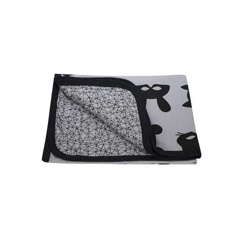 Turtledove London Masks Jersey Blanket - Multi