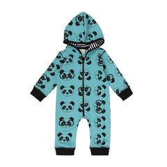 Turtledove London Panda Sweat Outersuit - Teal
