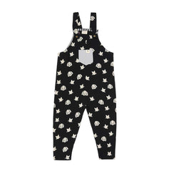 Turtledove London Percy and Maurice Easy Fit Dungarees - Black