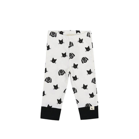 Turtledove London Percey and Maurice Leggings - Mono-Leggings- Natural Baby Shower