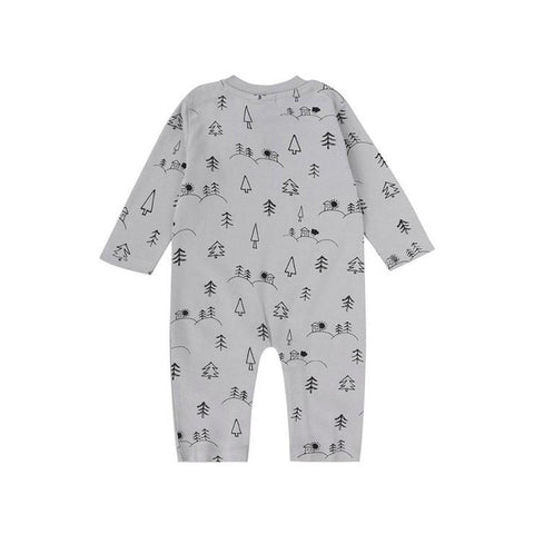 Turtledove London Playsuit - House on the Hill-Rompers- Natural Baby Shower