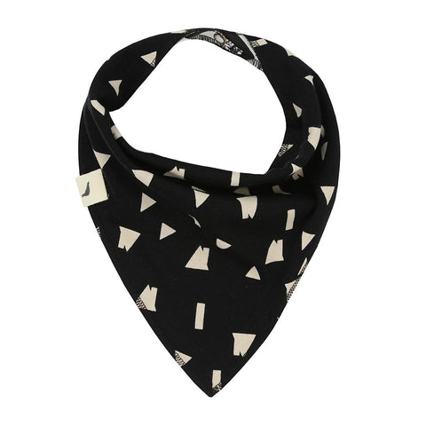 Turtledove London Reversible Bib - Mouse House/Rooftops Reversed