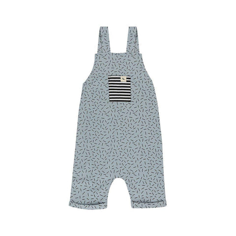 Turtledove London Shortie Dungarees - Sprinkles-Dungarees- Natural Baby Shower