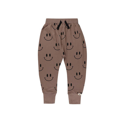 Turtledove London Smiley Harems - Stone-Pants- Natural Baby Shower