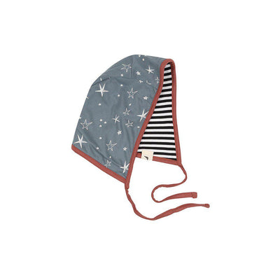 Turtledove London Super Star Bonnet - Steel-Hats-Steel- Natural Baby Shower