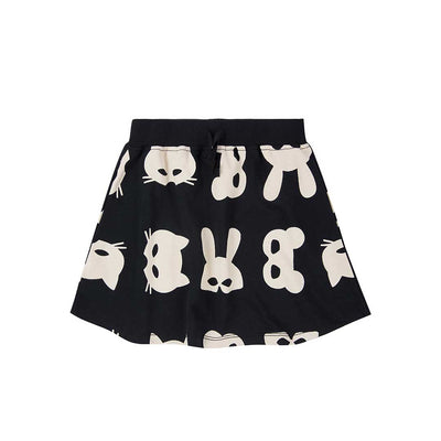Turtledove London Sweatshirt Skirt Shift Mask-Skirts- Natural Baby Shower