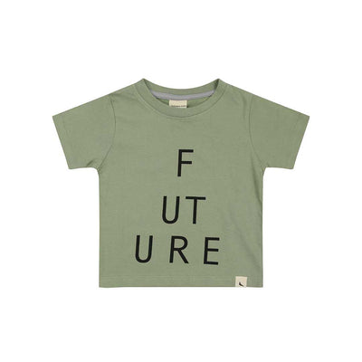 Turtledove London T-Shirt - Future-Short Sleeves- Natural Baby Shower