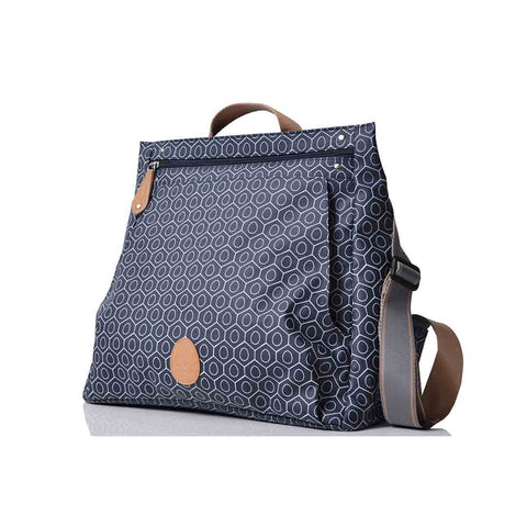 PacaPod Changing Bag - Lewis - Navy Tile