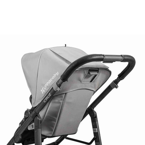 Uppababy Cruz Pushchair Leather Handlebar Cover Black