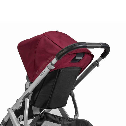 Uppababy Vista Pushchair Leather Handlebar Cover Black
