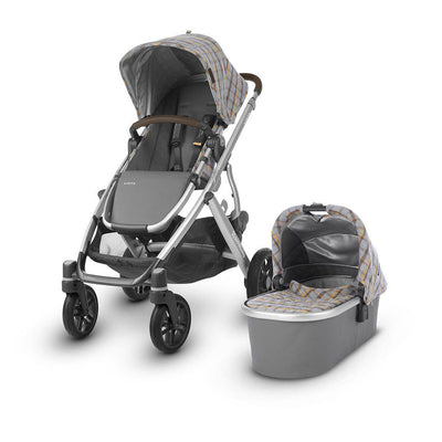 Uppababy Vista Pushchair & Carrycot - Spenser - 2019-Strollers- Natural Baby Shower