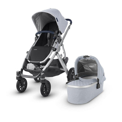 Uppababy Vista Pushchair & Carrycot - William - 2019-Strollers- Natural Baby Shower