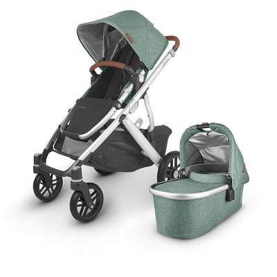 Uppababy Vista Pushchair + Carrycot V2 - 2020 - Emmett-Strollers- Natural Baby Shower