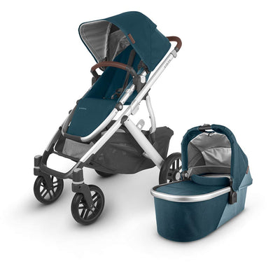 Uppababy Vista Pushchair + Carrycot V2 - 2020 - Finn-Strollers- Natural Baby Shower