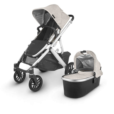 Uppababy Vista Pushchair + Carrycot V2 - 2020 - Sierra-Strollers- Natural Baby Shower