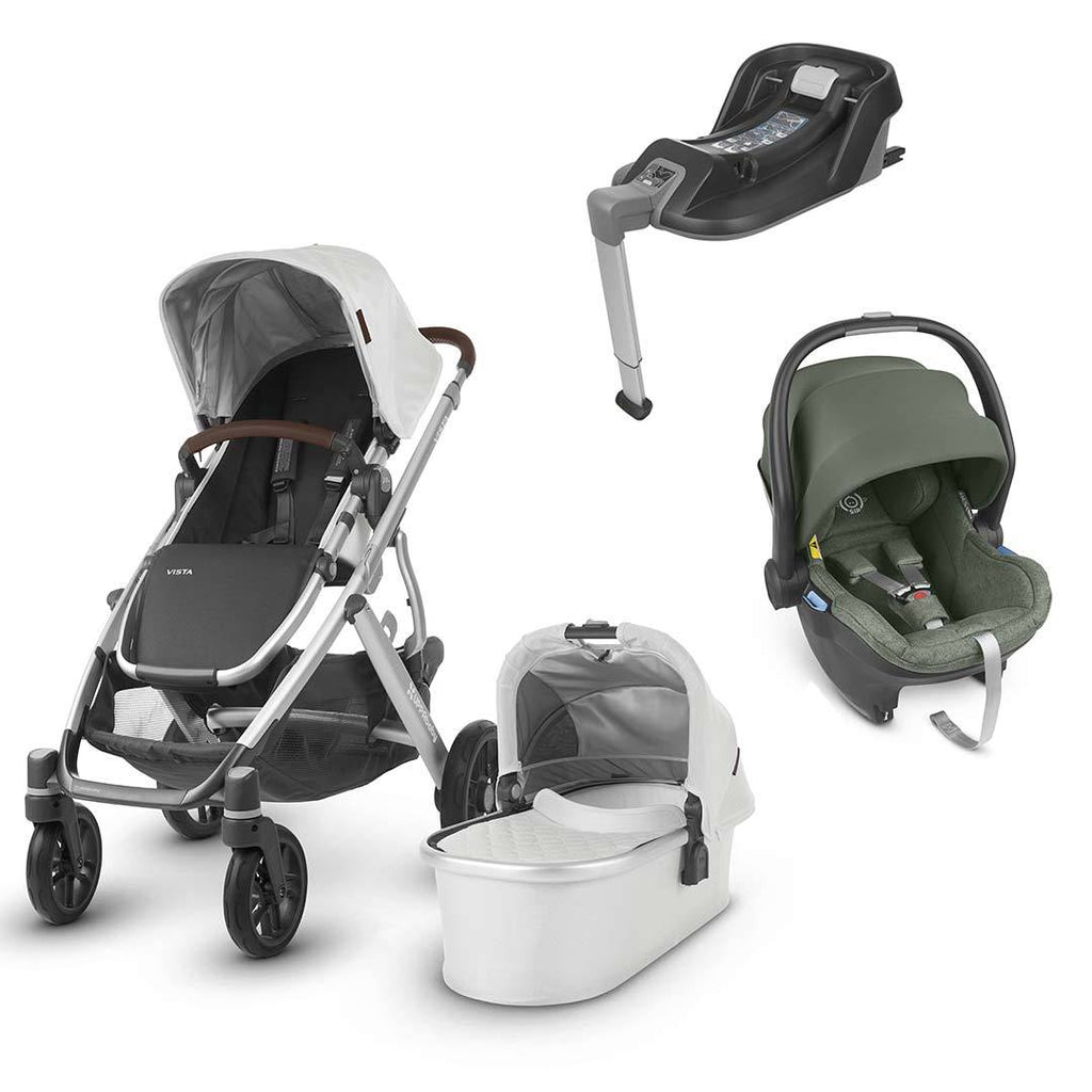 Uppababy Vista Travel System - Bryce-Travel Systems-Emmett- Natural Baby Shower