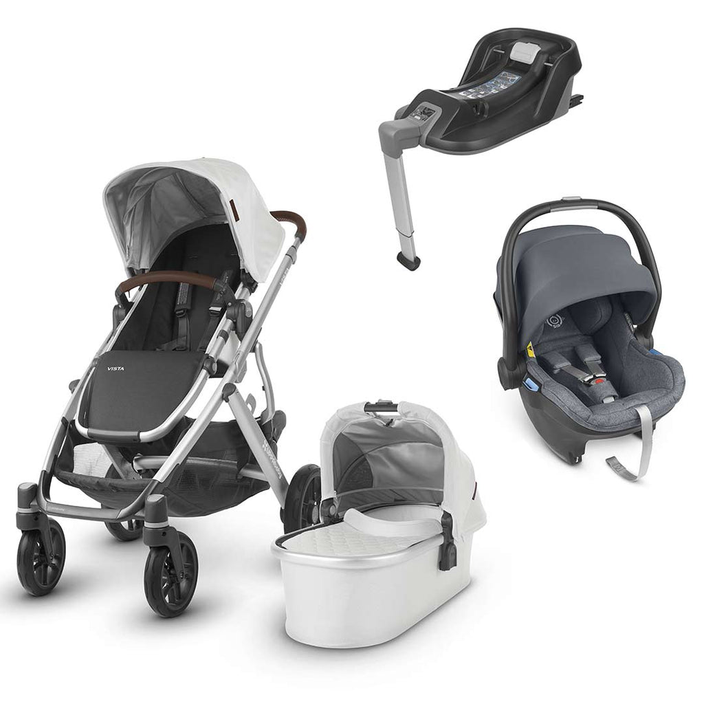 Uppababy Vista Travel System - Bryce-Travel Systems-Gregory- Natural Baby Shower