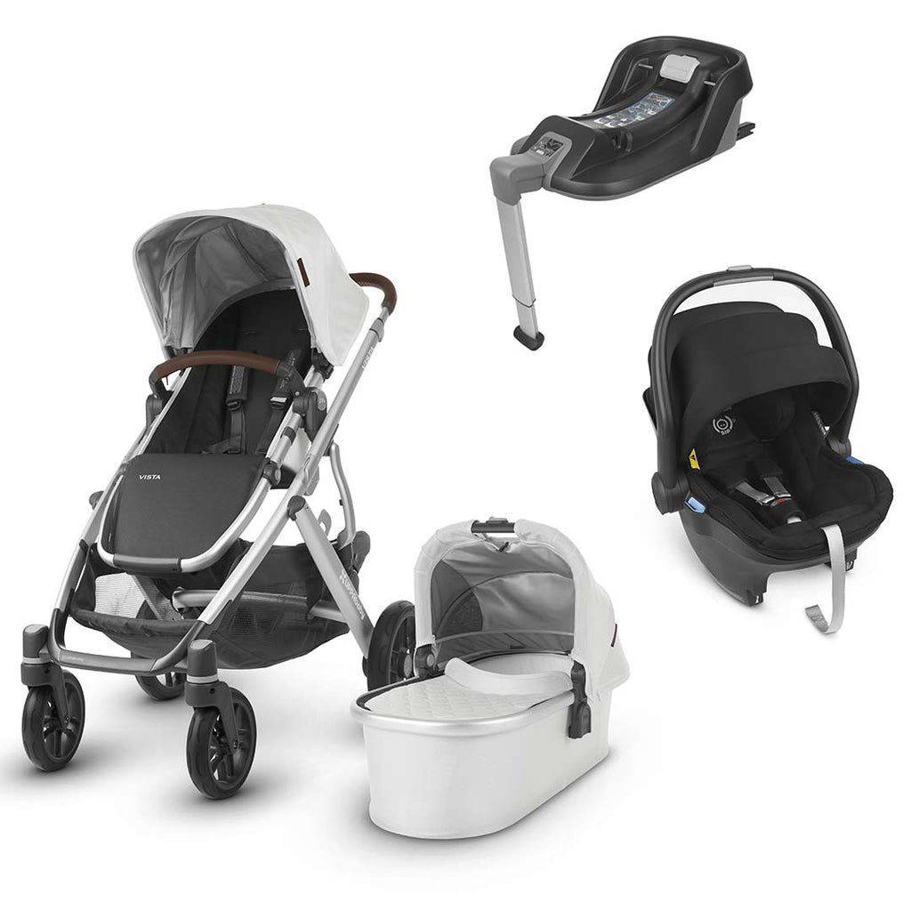 Uppababy Vista Travel System - Bryce-Travel Systems-Jake- Natural Baby Shower