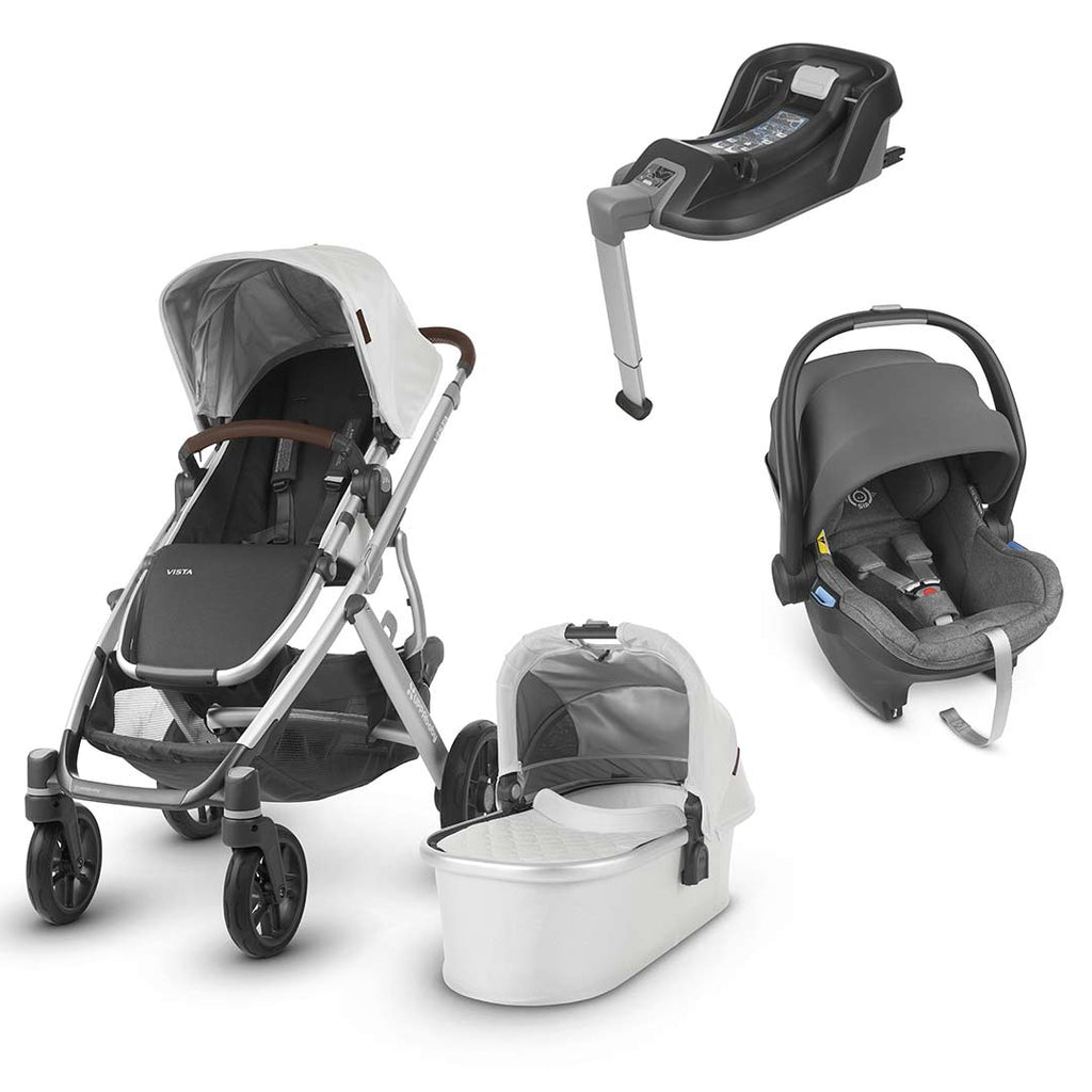 Uppababy Vista Travel System - Bryce-Travel Systems-Jordan- Natural Baby Shower