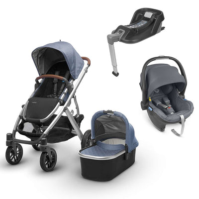Uppababy Vista Travel System - Henry - 2019-Travel Systems- Natural Baby Shower