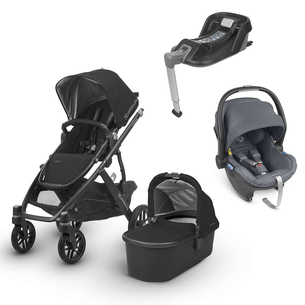 Uppababy Vista Travel System - Jake-Travel Systems-Gregory- Natural Baby Shower