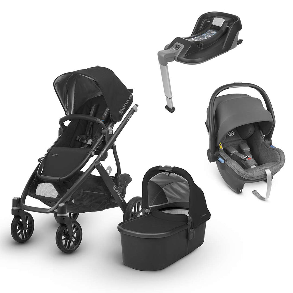 Uppababy Vista Travel System - Jake-Travel Systems-Jordan- Natural Baby Shower