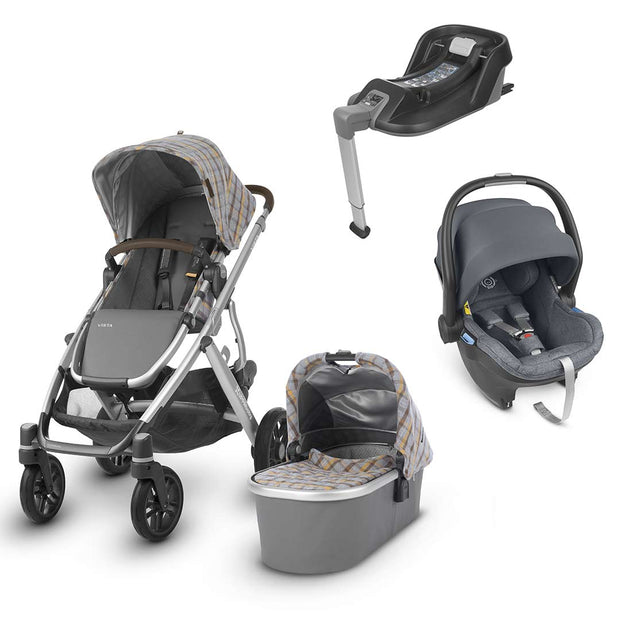 Uppababy Vista Travel System - Spenser-Travel Systems-Gregory- Natural Baby Shower