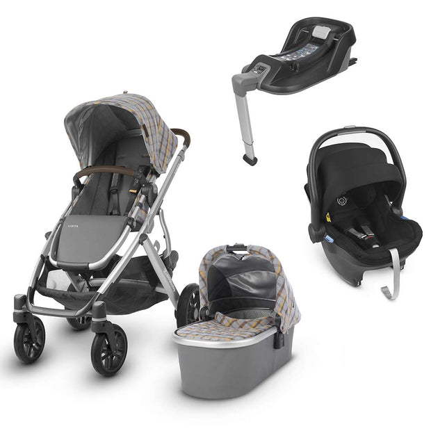 Uppababy Vista Travel System - Spenser-Travel Systems-Jake- Natural Baby Shower