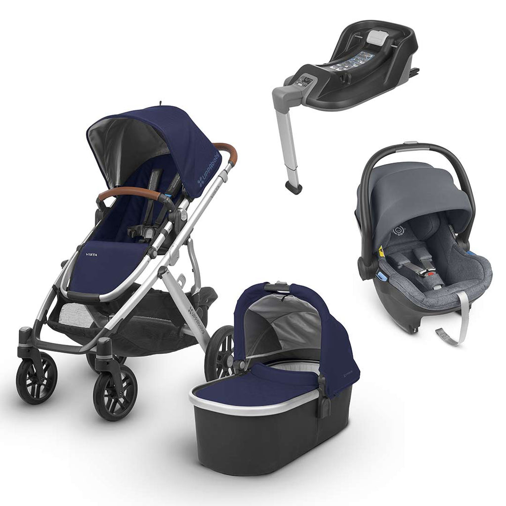 Uppababy Vista Travel System - Taylor-Strollers-Gregory- Natural Baby Shower