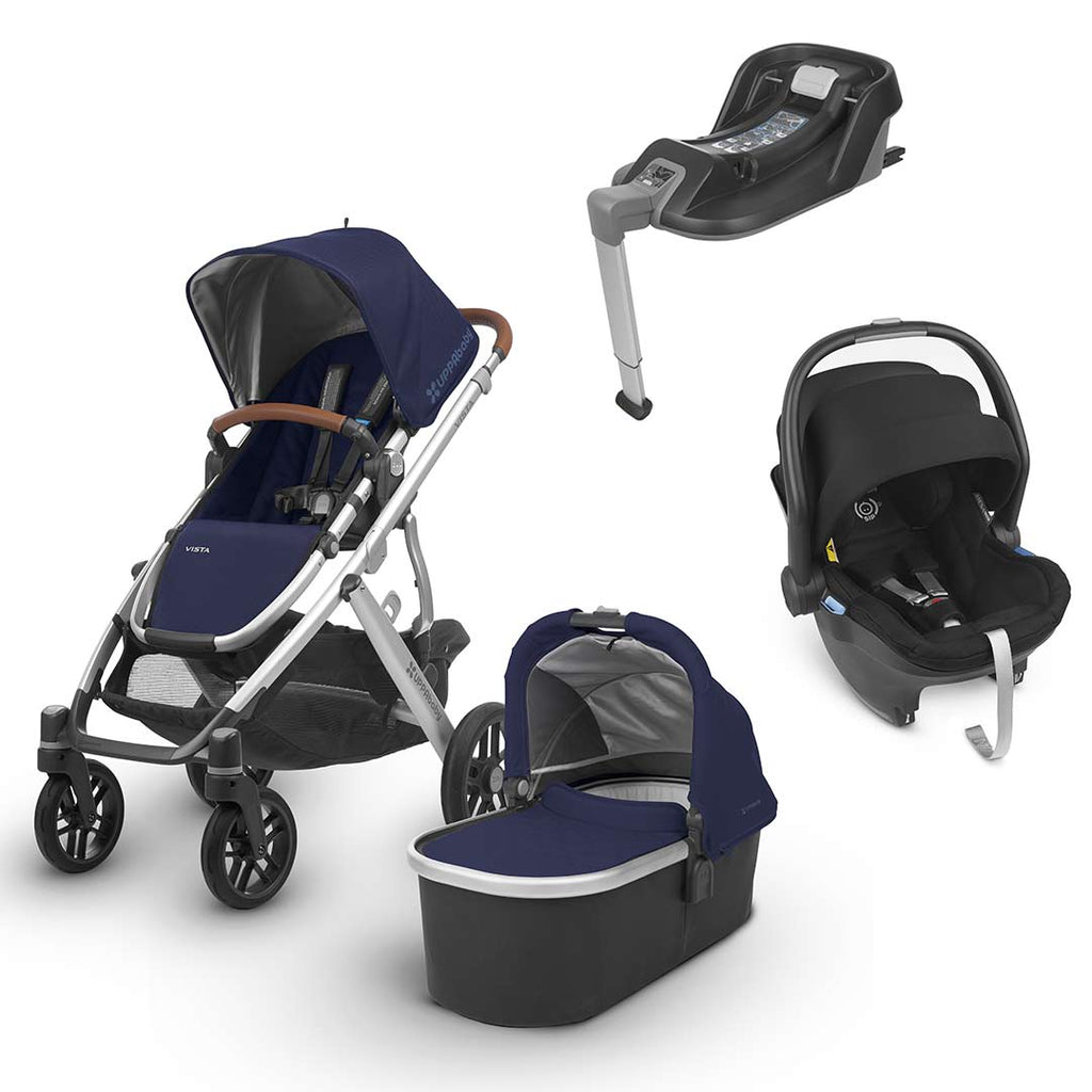 Uppababy Vista Travel System - Taylor-Strollers-Jake- Natural Baby Shower