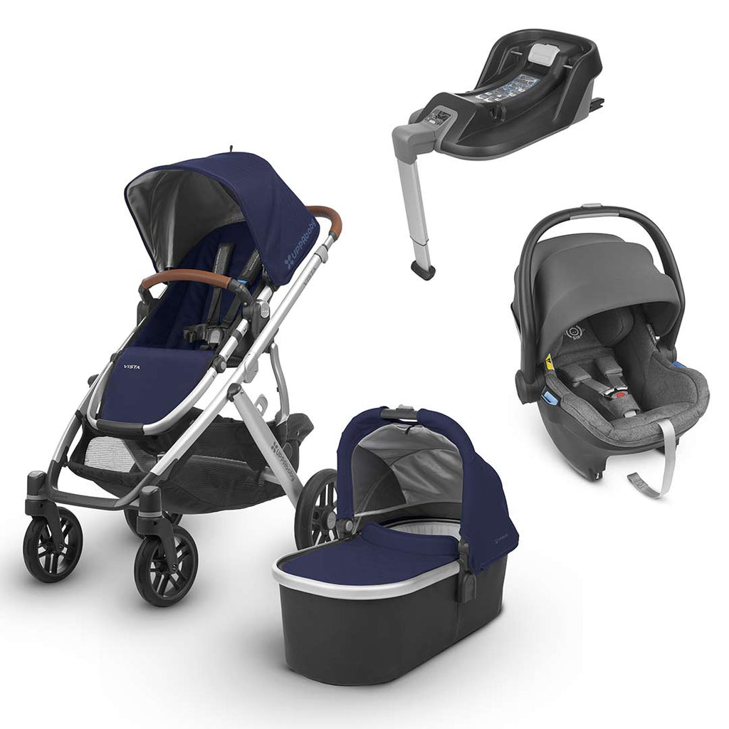 Uppababy Vista Travel System - Taylor-Strollers-Jordan- Natural Baby Shower