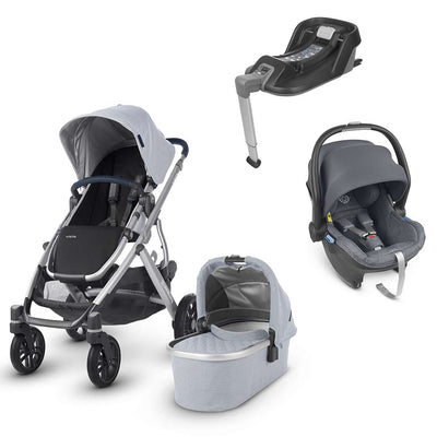 Uppababy Vista Travel System - William - 2019-Travel Systems-Gregory- Natural Baby Shower