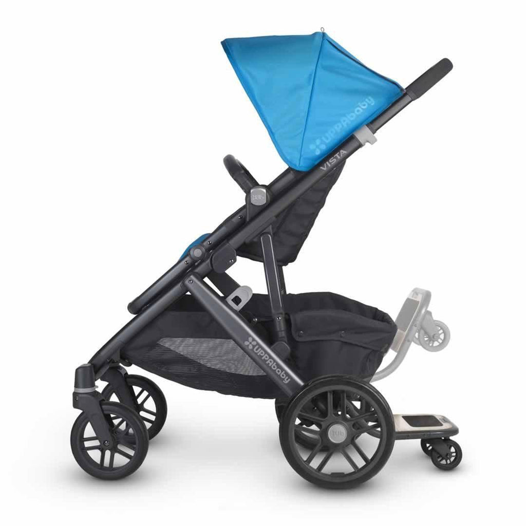 Uppababy Vista Piggyback Board on pushchair