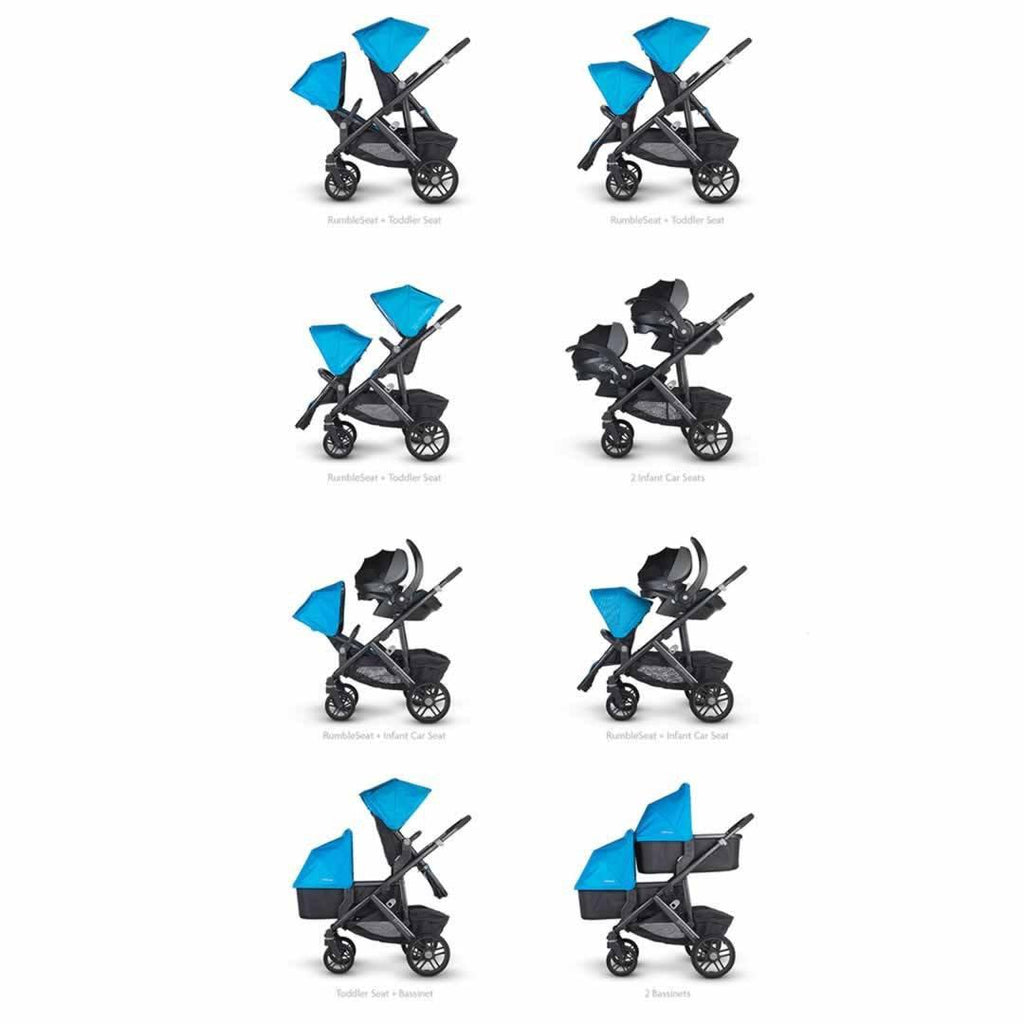 Uppababy Vista Pushchair - Pascal Configuration