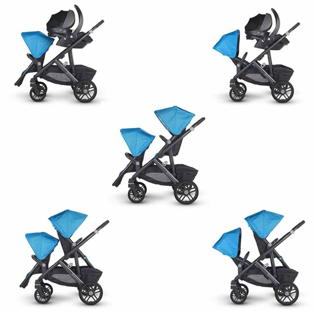 Uppababy Vista Rumble Seat - Taylor Configurations
