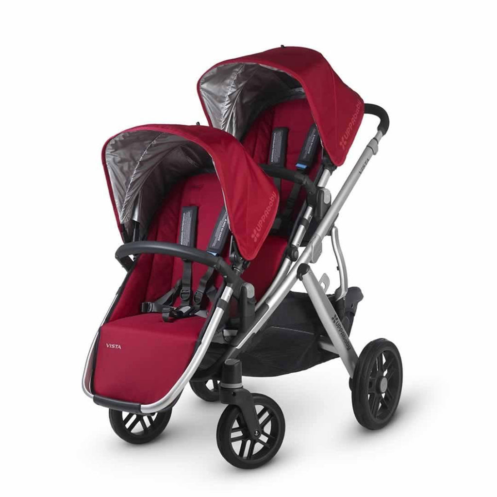 Uppababy Vista Rumble Seat - Denny on pushchair