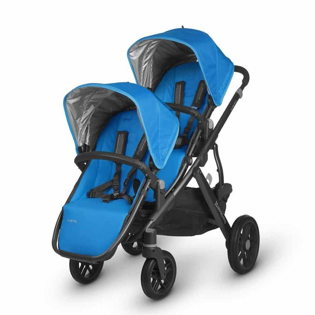 Uppababy Vista Rumble Seat - Georgie on pushchair