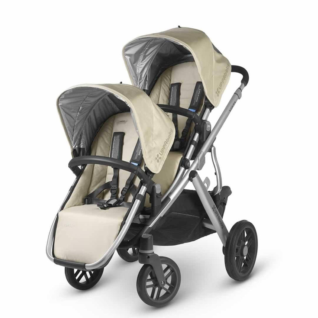 Uppababy Vista Rumble Seat - Lindsey on pushchair