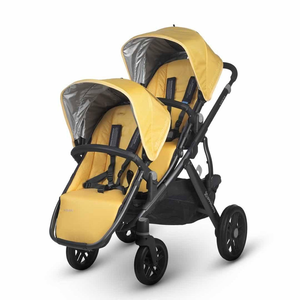 Uppababy Vista Rumble Seat - Maya on pushchair