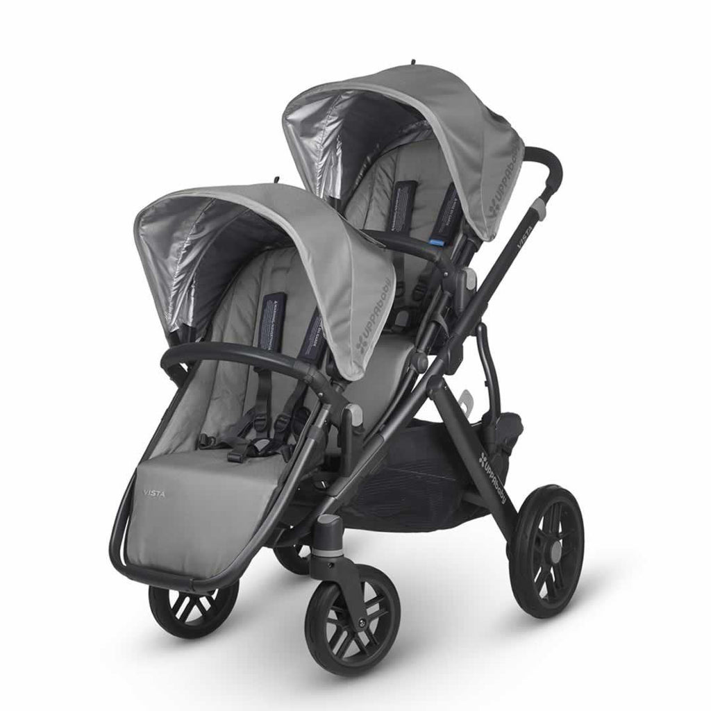 Uppababy Vista Rumble Seat - Pascal on pushchair