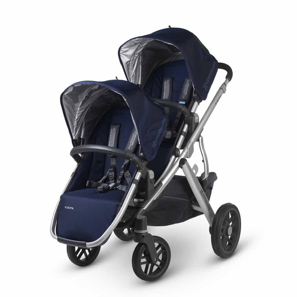 Uppababy Vista Rumble Seat - Taylor on pushchair