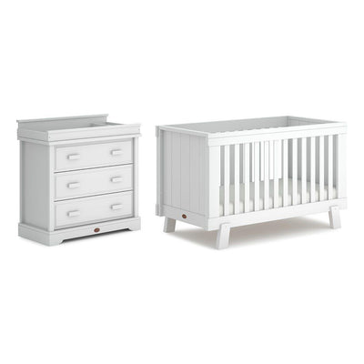 Boori Lucia Urbane 2 Piece Nursery Set - Barley White-Nursery Sets- Natural Baby Shower
