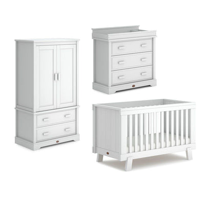 Boori Lucia Urbane 3 Piece Nursery Set - Barley White-Nursery Sets- Natural Baby Shower